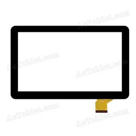 QLT 1007-XT Digitizer Glass Touch Screen Replacement for 10.1 Inch MID Tablet PC