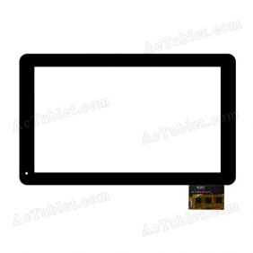 DPT 300-L3959A-A00-V1.0 Digitizer Glass Touch Screen Replacement for 10.1 Inch MID Tablet PC