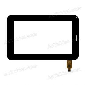 070-081 FPC Digitizer Glass Touch Screen Replacement for 7 Inch MID Tablet PC