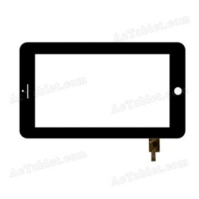N8-FPC-A0 Digitizer Glass Touch Screen Replacement for 7 Inch MID Tablet PC