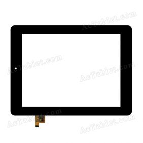 080088-01A-V2 Digitizer Glass Touch Screen Replacement for 8 Inch MID Tablet PC
