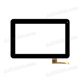 RS10F072PS_V1.0 Digitizer Glass Touch Screen Replacement for 10.1 Inch MID Tablet PC