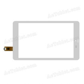 FPCA-80A09-V04 Digitizer Glass Touch Screen Replacement for 8 Inch MID Tablet PC