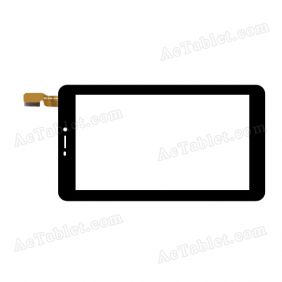 DXP2-0195-070A FPC V2.0 Digitizer Glass Touch Screen Replacement for 7 Inch MID Tablet PC