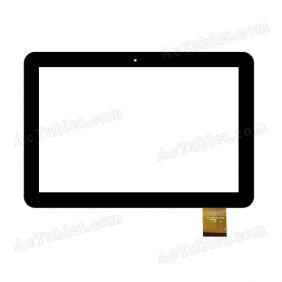DH-1013A2-GG-FPC049 Digitizer Glass Touch Screen Replacement for 10.1 Inch MID Tablet PC
