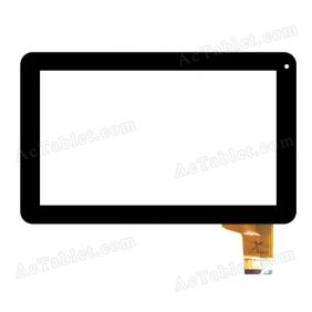 F0473 Digitizer Glass Touch Screen Replacement for 9 Inch MID Tablet PC