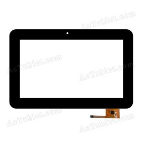 DY-F-07029-V2 Digitizer Glass Touch Screen Replacement for 7 Inch MID Tablet PC