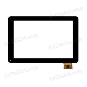 A0207-2-FO-A Digitizer Glass Touch Screen Replacement for 10.1 Inch MID Tablet PC