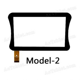 FPC-CY070155-00 Digitizer Glass Touch Screen Replacement for 7 Inch MID Tablet PC