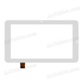 HH070FPC-054A-XDX Digitizer Glass Touch Screen Replacement for 7 Inch MID Tablet PC