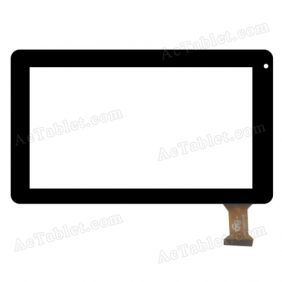 GT70M7068 FHX Digitizer Glass Touch Screen Replacement for 7 Inch MID Tablet PC