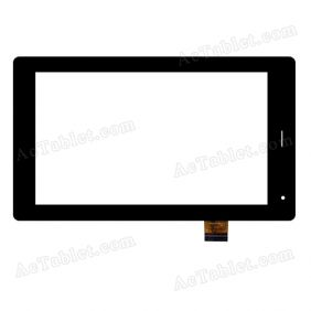 YTG-G70042-F2 Digitizer Glass Touch Screen Replacement for 7 Inch MID Tablet PC