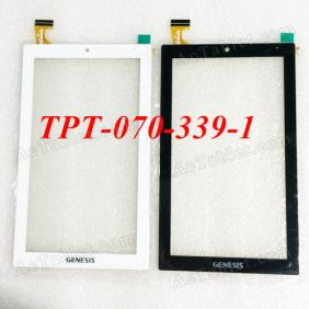 TPT-070-339-1 Digitizer Glass Touch Screen Replacement for 7 Inch MID Tablet PC