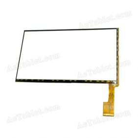 RS7F1609001V1.9 Digitizer Glass Touch Screen Replacement for 7 Inch MID Tablet PC