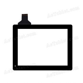 HS1138A Digitizer Glass Touch Screen Replacement for 9.7 Inch MID Tablet PC