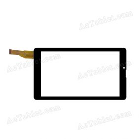 FPC-753A0-V02 KQ Digitizer Glass Touch Screen Replacement for 7 Inch MID Tablet PC