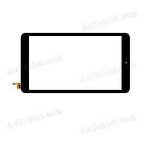 80701-0B5256C Digitizer Glass Touch Screen Replacement for 8 Inch MID Tablet PC