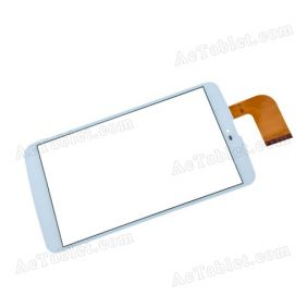 XCL-S80006A-FPC3.0 Digitizer Glass Touch Screen Replacement for 8 Inch MID Tablet PC