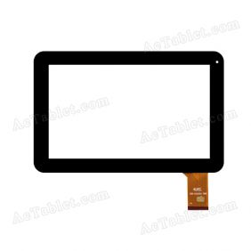 10112-DD3860G Digitizer Glass Touch Screen Replacement for 9 Inch MID Tablet PC