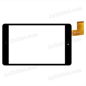 XF20141105 HK80DR2498 Digitizer Glass Touch Screen Replacement for 7.9 Inch MID Tablet PC