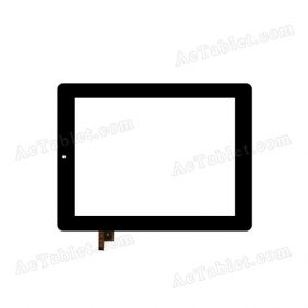 080088-01a-v1 Digitizer Glass Touch Screen Replacement for 8 Inch MID Tablet PC