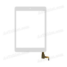078055-01A-V1 Digitizer Glass Touch Screen Replacement for 7.9 Inch MID Tablet PC