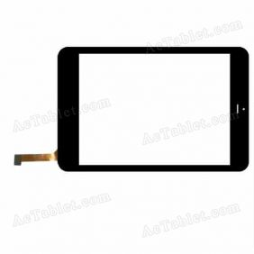 DH-0736A1-PG Digitizer Glass Touch Screen Replacement for 7.9 Inch MID Tablet PC