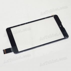 C100185B1-DRFPC234T-V1.1 Digitizer Glass Touch Screen Replacement for 7 Inch MID Tablet PC