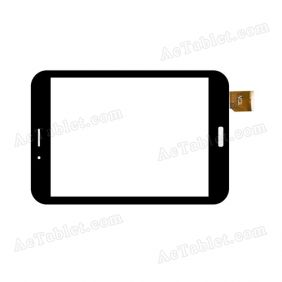 TCLHCTP-375 Digitizer Glass Touch Screen Replacement for 8 Inch MID Tablet PC
