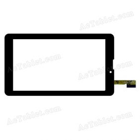 YTG-C70059-F1 Digitizer Glass Touch Screen Replacement for 7 Inch MID Tablet PC