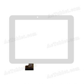 YTG-G80022-F1 Digitizer Glass Touch Screen Replacement for 8 Inch MID Tablet PC