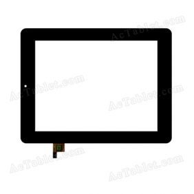 FPC.0800-0238-A Digitizer Glass Touch Screen Replacement for 8 Inch MID Tablet PC