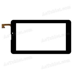 C7000296FPVC Digitizer Glass Touch Screen Replacement for 7 Inch MID Tablet PC