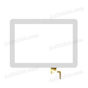 101056-01A-V1 Digitizer Glass Touch Screen Replacement for 10.1 Inch MID Tablet PC