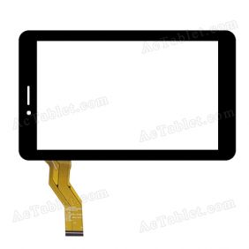 HOTATOUCH C186104C10-FPC829DR Digitizer Glass Touch Screen Replacement for 7 Inch MID Tablet PC