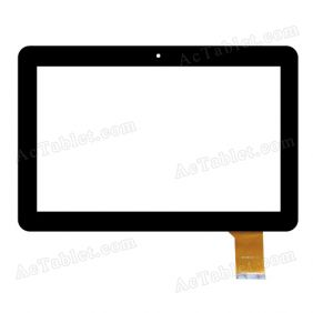 MJK-0328 14.11.6 Digitizer Glass Touch Screen Replacement for 10.1 Inch MID Tablet PC