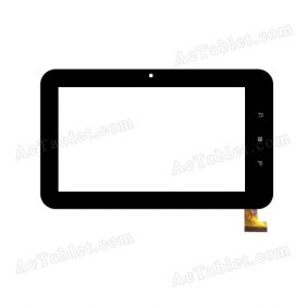 TOPSUN_C0121-A1 Digitizer Glass Touch Screen Replacement for 7 Inch MID Tablet PC