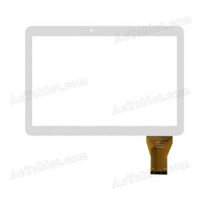 MTCTP-10616 Digitizer Glass Touch Screen Replacement for 10.1 Inch MID Tablet PC