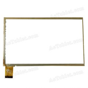 GT705051 FHX Digitizer Glass Touch Screen Replacement for 7 Inch MID Tablet PC