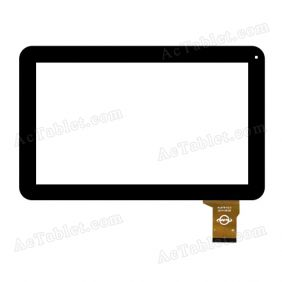 WJ678-V2.0 Digitizer Glass Touch Screen Replacement for 10.1 Inch MID Tablet PC