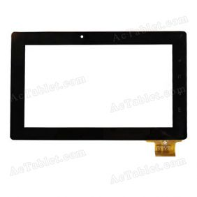 TPC0528 VER1.0 Digitizer Glass Touch Screen Replacement for 7 Inch MID Tablet PC