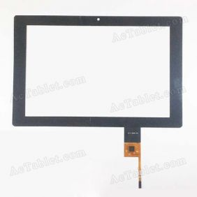 AD-C-100409-FPC Digitizer Glass Touch Screen Replacement for 10.1 Inch MID Tablet PC