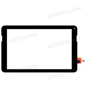 YCF0528-B Digitizer Glass Touch Screen Replacement for 10.1 Inch MID Tablet PC