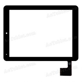 QSD E-C8010-01 Digitizer Glass Touch Screen Replacement for 8 Inch MID Tablet PC