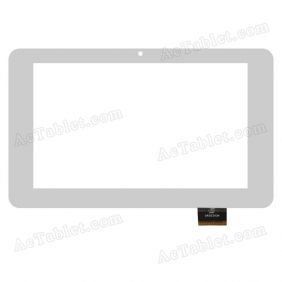 GKG0393A Digitizer Glass Touch Screen Replacement for 7 Inch MID Tablet PC