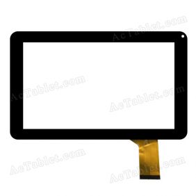 FK 90099 Digitizer Glass Touch Screen Replacement for 9 Inch MID Tablet PC