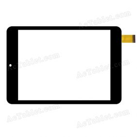 WGJ7361-V3 Digitizer Glass Touch Screen Replacement for 7.9 Inch MID Tablet PC