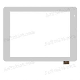 YTG-P80013-F1 V1.0 Digitizer Glass Touch Screen Replacement for 8 Inch MID Tablet PC