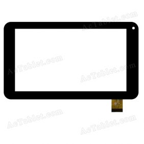YJ154FPC-V0 Digitizer Glass Touch Screen Replacement for 7 Inch MID Tablet PC