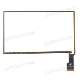 TPC0583 VER1.0 Digitizer Glass Touch Screen Replacement for 7 Inch MID Tablet PC